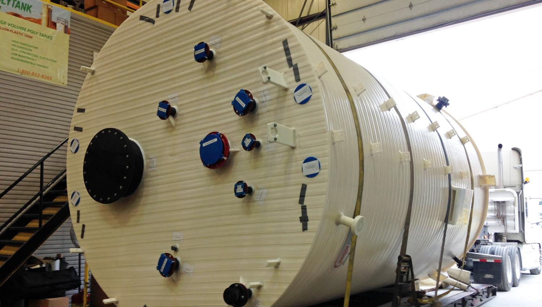 8700 GL Sodium Bisulfite Tank