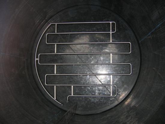 Internal Heating Coil