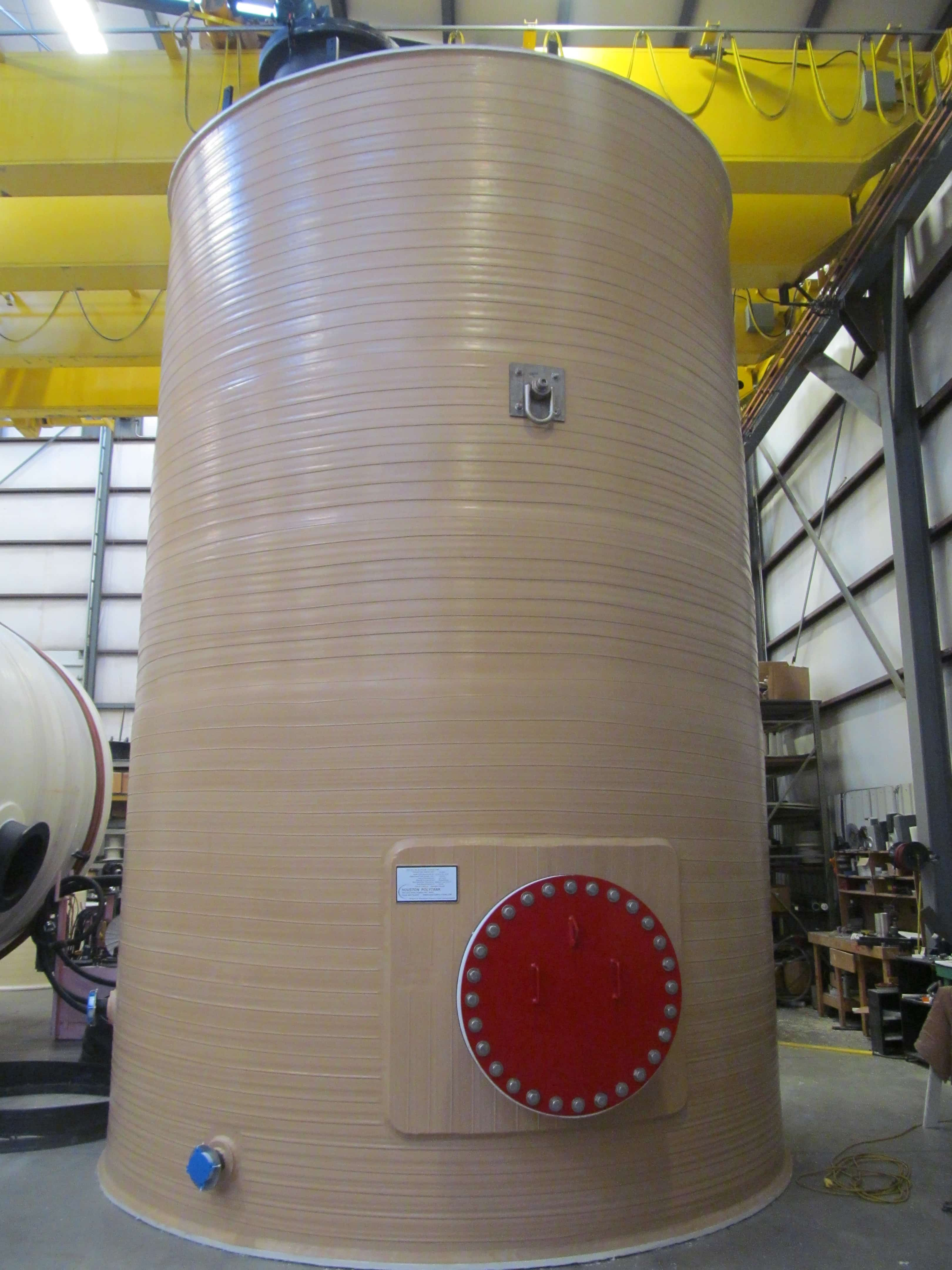 21,500 Gallon Polyethylene Vertical Hydrogen Peroxide Tank