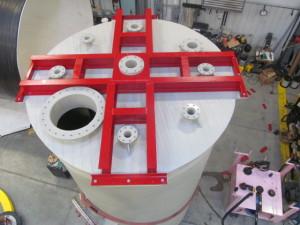 Chemical Storage Tank Mixer Mount